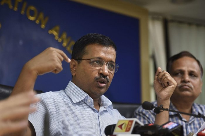 Kejriwal asserted his government is ready to deal with the situation that may arise.(PTI Photo)