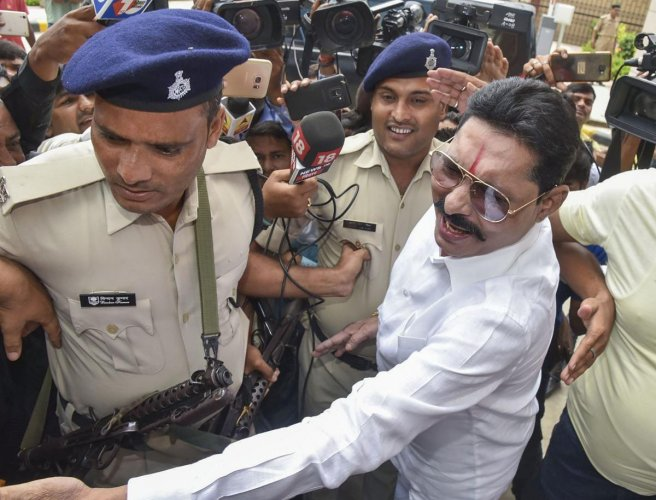 In a video message, the Mokama MLA also asserted that he will interact with the journalists on his return. (PTI file photo)