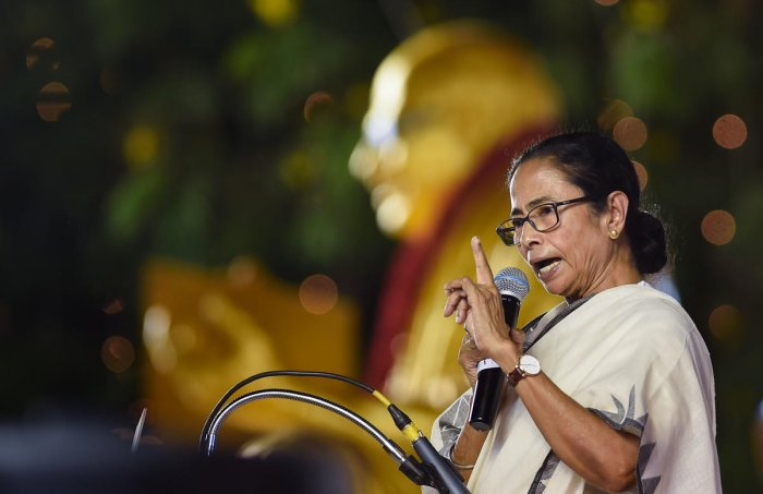 Banerjee, on the occasion of World Humanitarian Day, said she had once taken to the streets to protest against human rights violations. (PTI file photo)