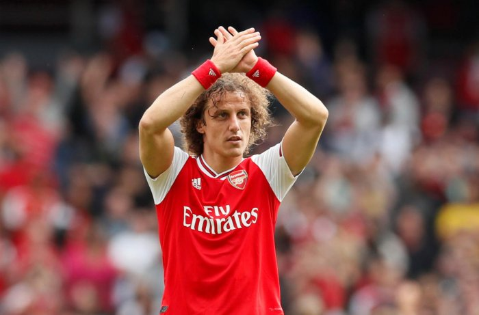 Luiz, 32, made a deadline day move across London to Arsenal where he signed a two-year contract after spending three seasons in a second stint with Chelsea. (Reuters file photo)