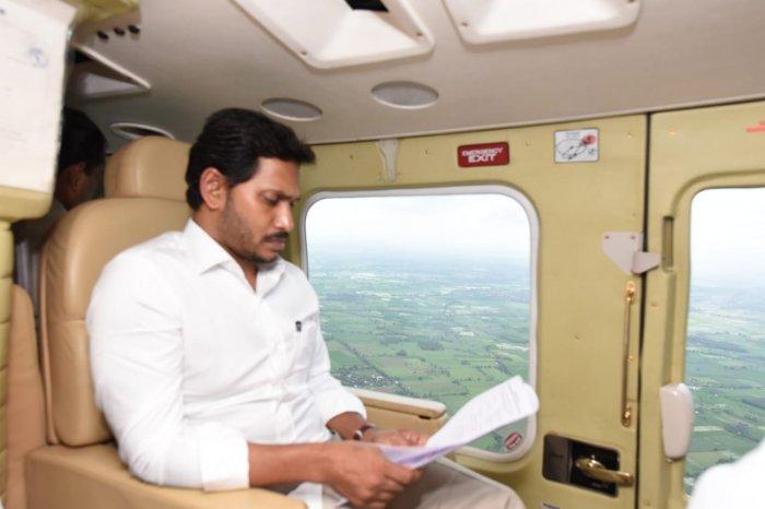 Andhra Pradesh Chief Minister YS Jaganmohan Reddy. (DH Photo)