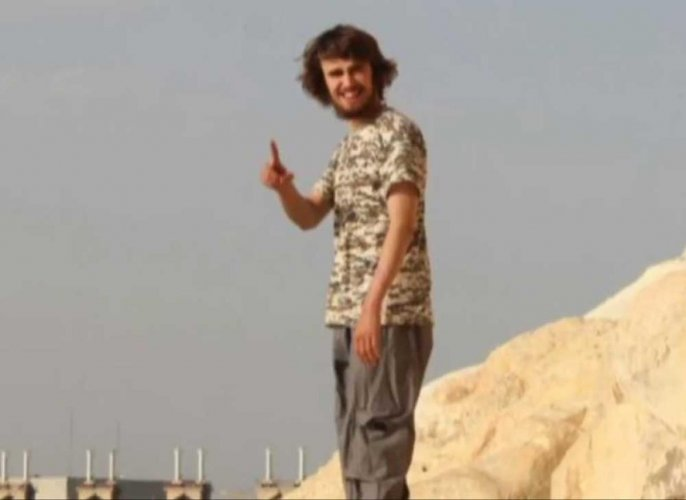 Jack Letts, better known as 'Jihadi Jack', has been officially charged with associating with the ISIS. (DH file photo)