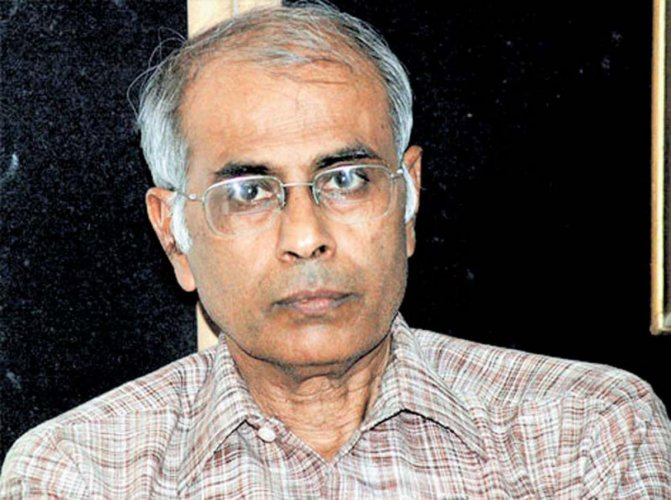 Narendra Dabholkar's family protested to punish real culprits (DH File Photo)
