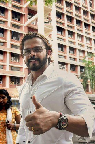 Sreesanth was banned from all forms of cricket in 2013 after he was found guilty of spot-fixing in an IPL game (PTI File Photo)