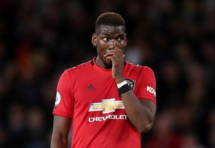 Pogba had a second-half penalty saved by Wolves' Rui Patricio, leading some Twitter users to racially abuse him (Reuters Photo)