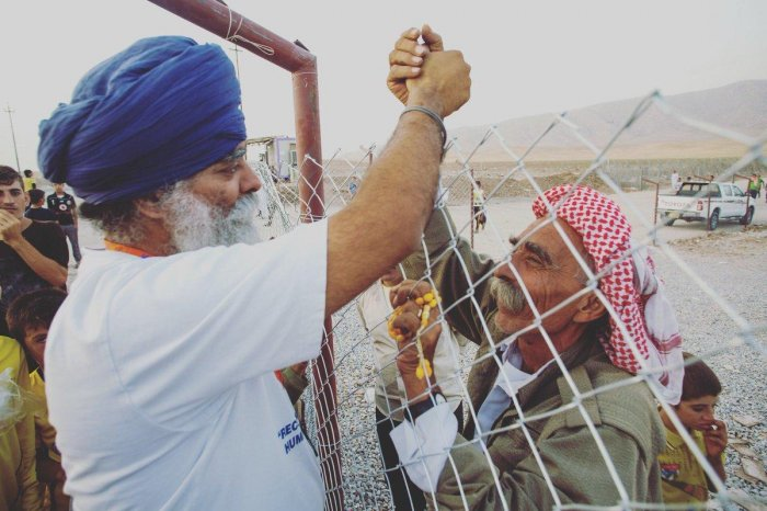 Ravi Singh is the founder and CEO of Khalsa Aid which is an international NGO with the aim to provide humanitarian aid in disaster areas and civil conflict zones around the world. (Photo Twitter/@RaviSinghKA)