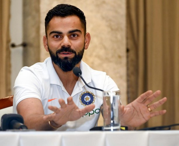 Virat Kohli's India are bursting with confidence going into their first Test match since the historic series triumph in Australia at the start of the year. (PTI Photo)