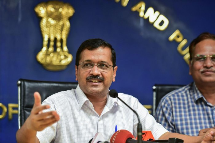 Delhi Chief Minister Arvind Kejriwal (PTI Photo)