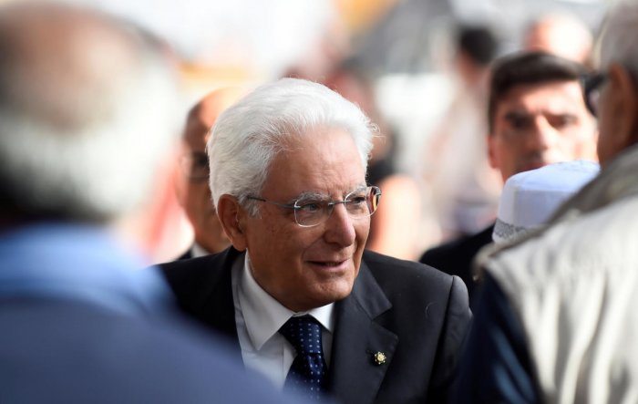 Italy's constitution says that Mattarella should first consult former presidents, meaning Senator Giorgio Napolitano, 94, who was in the job from 2006-2015. A range of options is open to Mattarella, with a new government possible as soon as Friday. Photo/Reuters