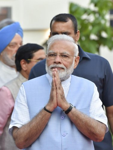 Modi said Gaur served people for decades and transformed Madhya Pradesh. (Photo credit: PTI)