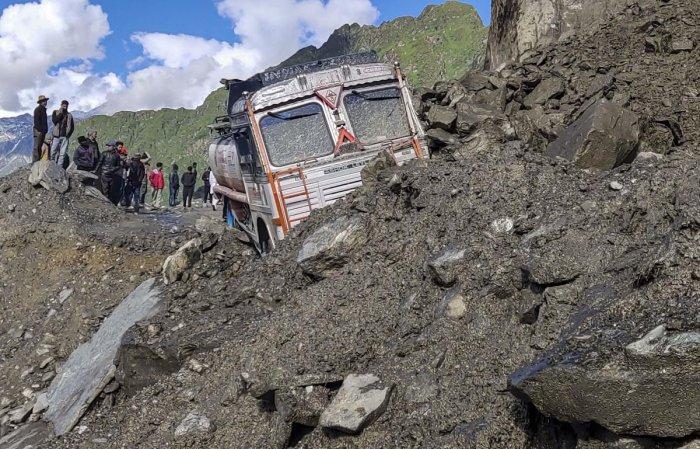 Manali-Leh Highway (PTI Photo)