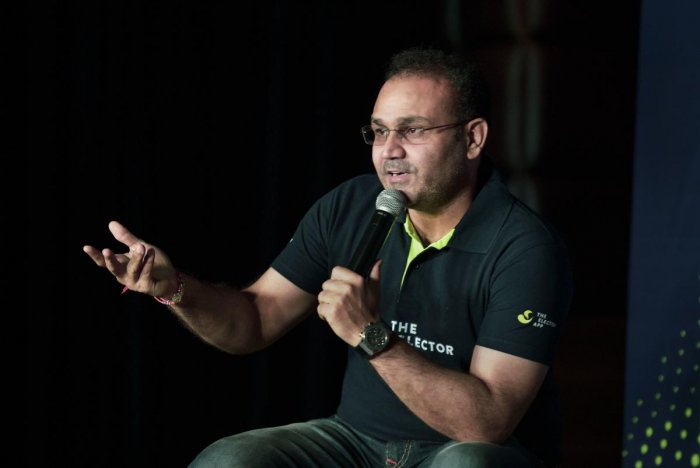 Sehwag also said that he doesn't think that Kumble will agree to do the job right now since the chairman gets Rs 1 crore per annum.(PTI Photo)