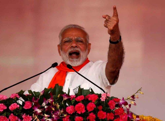 Narendra Modi and Boris Johnson spoke over phone. (Reuters File Photo)