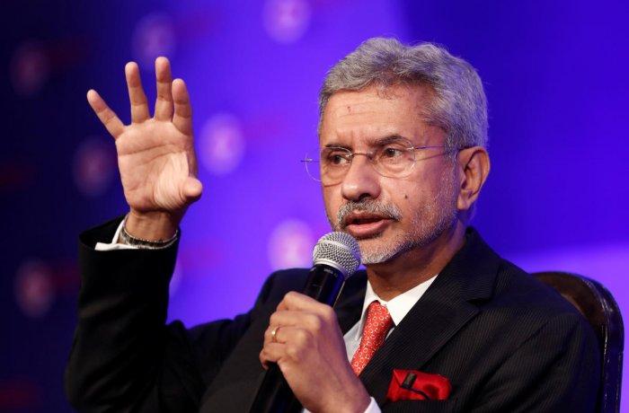 External Affairs Minister S Jaishankar. Reuters file photo