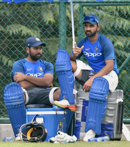 Rohit has never nailed down his spot in the Test side while Rahane has been out of sorts for the past two years (PTI File Photo)