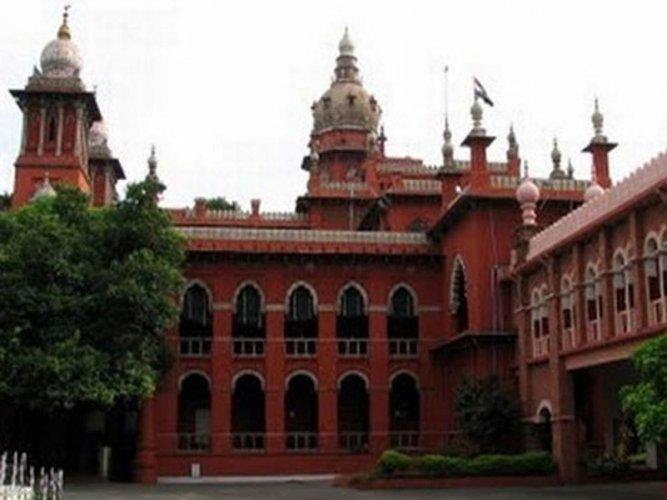 Madras High Court. PTI File photo