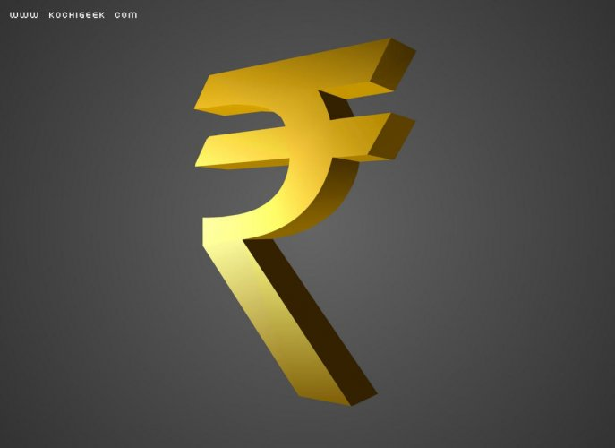 The Indian rupee on Thursday plunged to an over eight-month low of 71.81, dropping 26 paise against the US dollar as tumbling equities and incessant foreign fund outflows weighed on sentiment. File photo