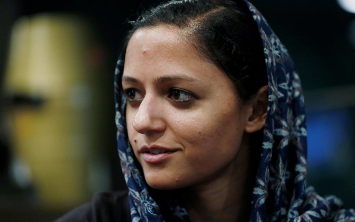 Kashmir People's Movement leader and activist Shehla Rashid. (Photo: Reuters)