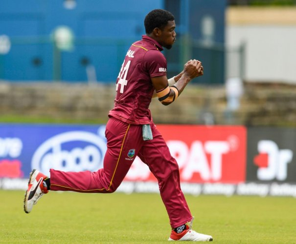 All-rounder Kemmo Paul. AFP file photo