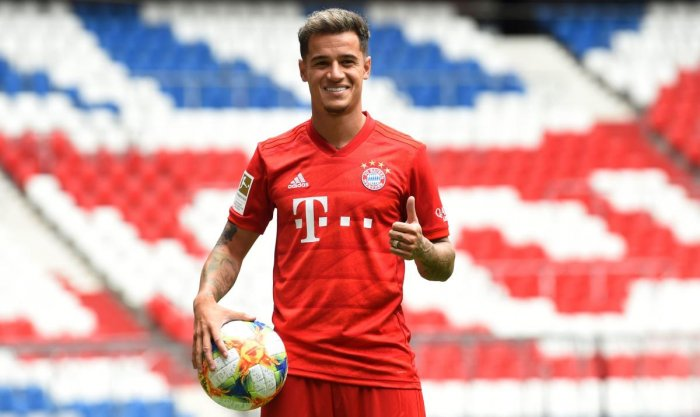 Coutinho moved to Bayern on a year-long loan from Barcelona (AFP Photo)