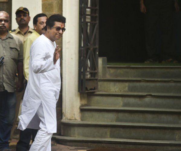 Maharashtra Navnirman Sena (MNS) President Raj Thackeray (PTI Photo)