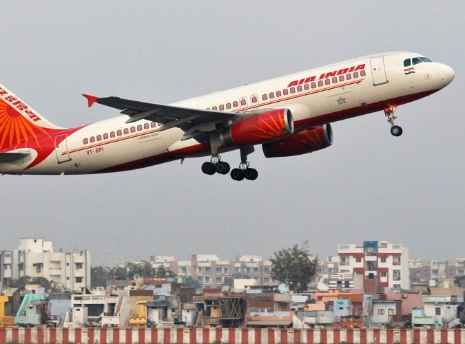 Air India flight. (Reuters File Photo)