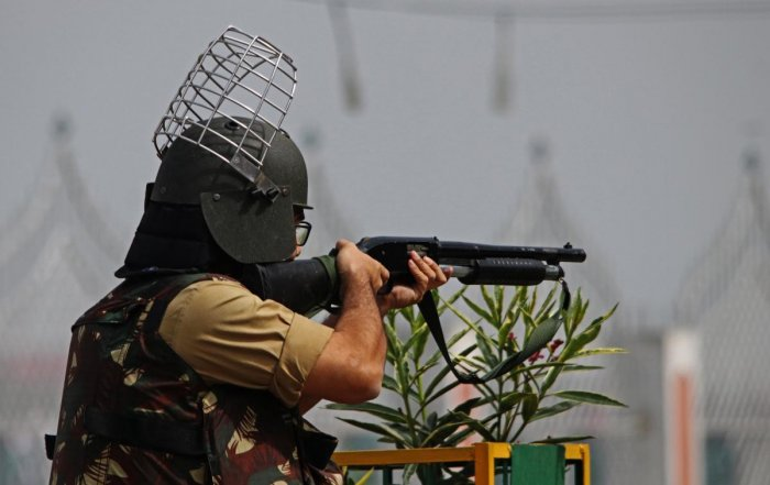 At least 152 people have suffered injuries from tear gas and pellets in Kashmir since Indian security forces this month launched a sweeping crackdown. (File Photo)