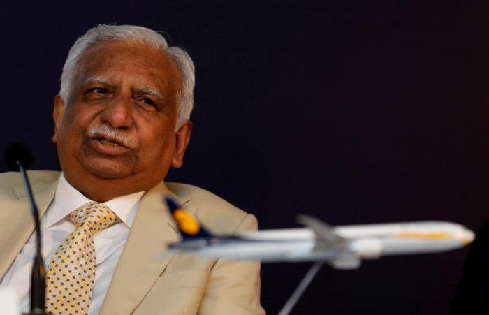 Jet Airways founder Naresh Goyal. (Photo by Reuters)
