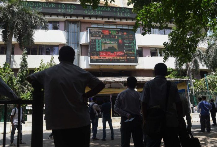Indian shares rebounded to end higher on Friday, after three sessions of declines. (AFP Photo)