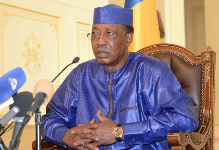 Chad president Idriss Deby Itno. (AFP Photo)
