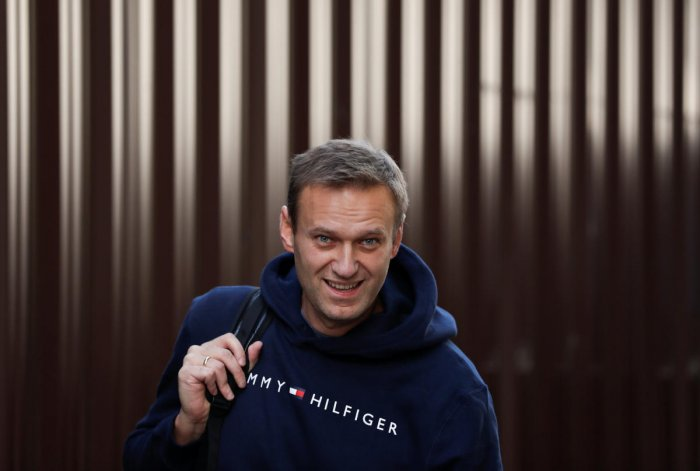 Russian opposition leader Alexei Navalny. (Reuters Photo)
