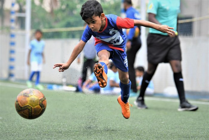 Jordan Mobin Paul, seven-year-old BFC talent, has caught attention with his brilliant skills.