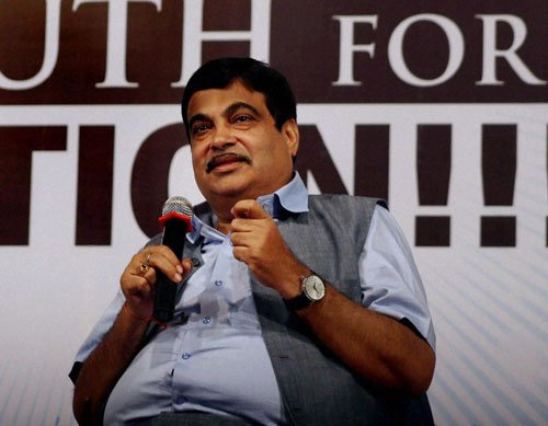 Article 370 part of BJP agenda not NDA's: Gadkari