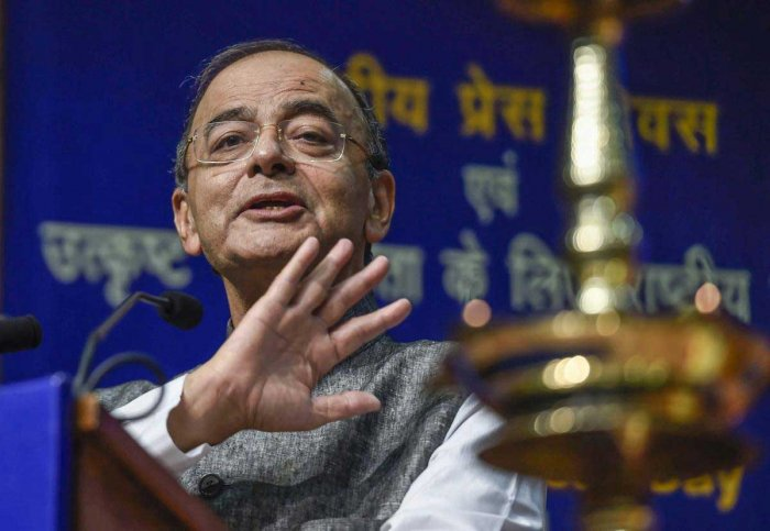 Former Finance Minister Arun Jaitley (PTI File Photo)
