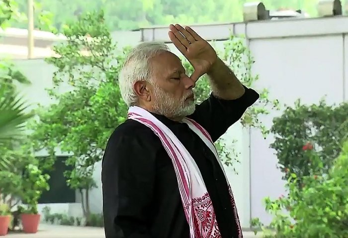 PM Modi will launch the 'Fit India Movement' on August 29. (AFP photo)