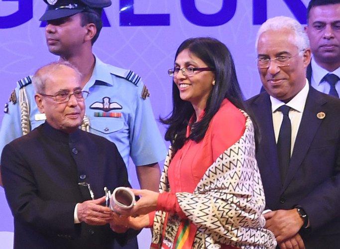 Nisha Desai Biswal. File photo