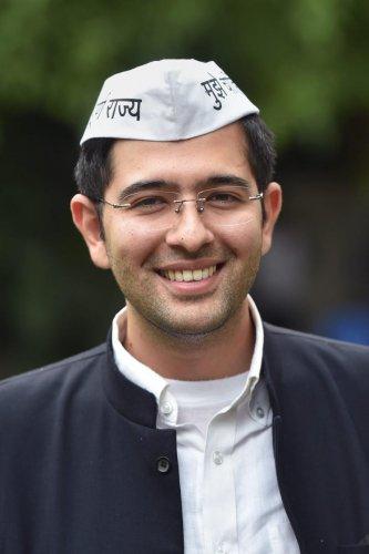 Aam Aadmi Partyspokesperson Raghav Chadha (PTI Photo)
