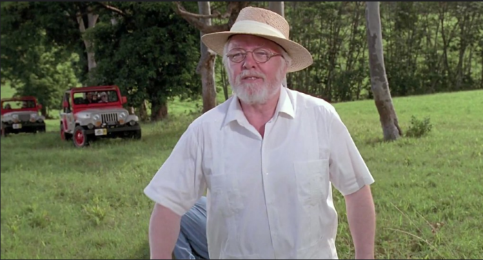 Richard Attenborough in Jurassic Park. Photo Credits - Philippe Freyhof/Flickr.com