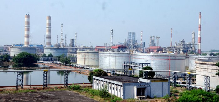 The Mangalore Refinery and Petrochemicals Limited (MRPL) has contributed Rs 5 crore to the Karnataka Chief Ministers disaster relief fund. File photo