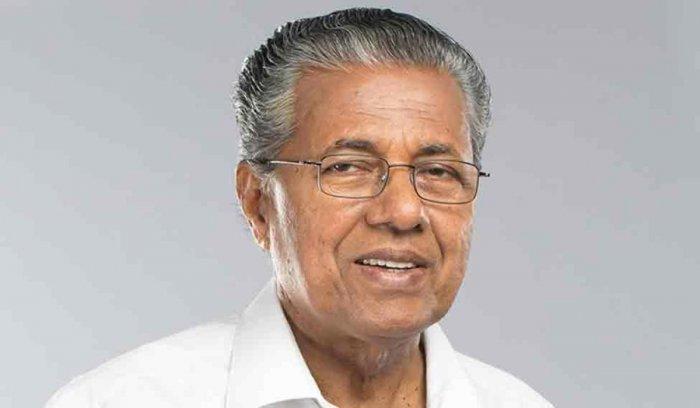Kerala Chief Minister Pinarayi Vijayan. PTI file photo