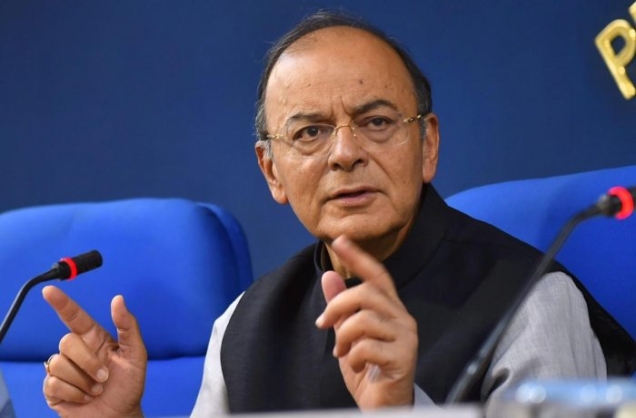 """In a Facebook post, Arun Jaitley said, """"Every time I listen to the view of Rahul Gandhi, both inside and outside Parliament, I ask myself the same question – How much does he know? When will he know? Listening to his speech delivered in Madhya Pradesh today reaffirms my curiosity about the answer. Is he being inadequately briefed or is he being a little too liberal with his facts?"""" PTI file photo"""