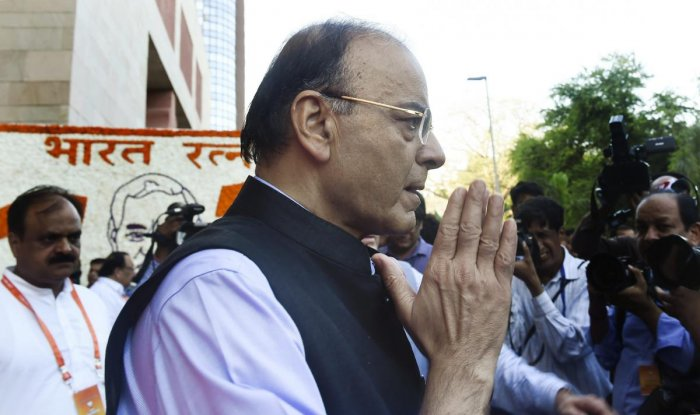 """In a Facebook blog, Jaitley said Mallya's statement was """"factually false"""" and """"does not reflect the truth"""". (PTI Photo)"""