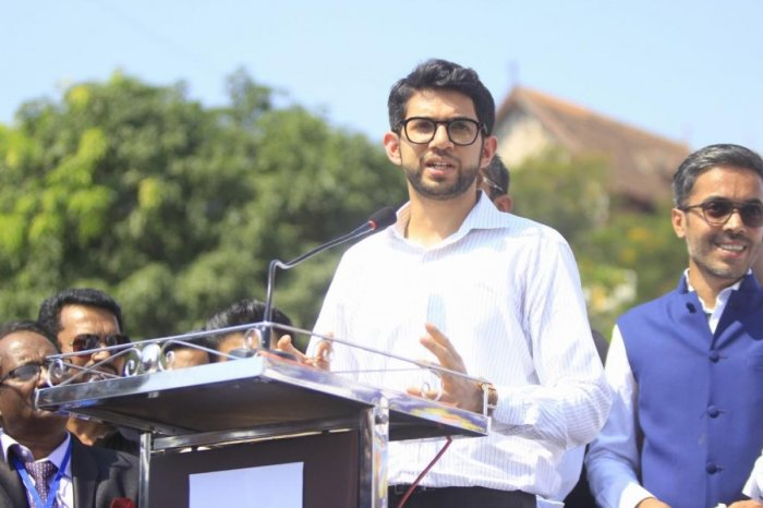 """The Shiv Sena on Monday hailed the Centre's decision on Article 370, with Yuva Sena chief Aaditya Thackeray dubbing it as a """"moment of pride"""" and a """"historic day"""" for the country. (File Photo)"""