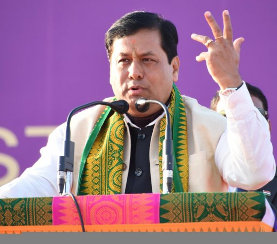 Assam Chief Minister Sarbananda Sonowal. PTI file photo