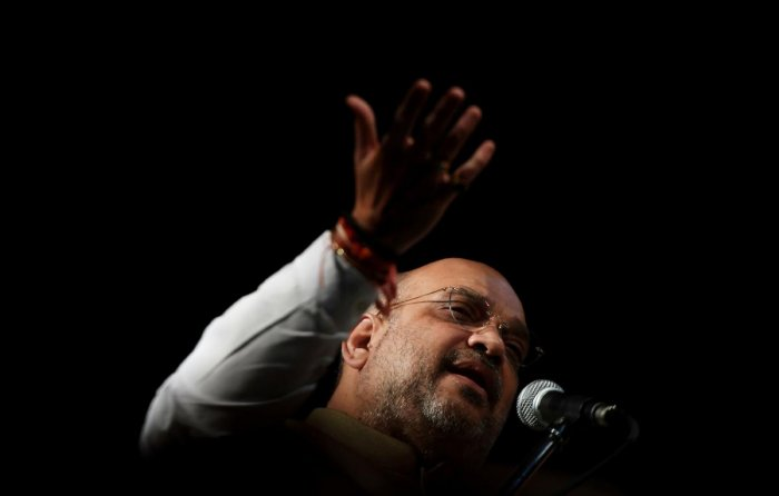 Shah also slammed Banerjee for trying to mislead the masses on the National Register of Citizens (NRC) and the Citizenship (Amendment) Bill. AFP File photo