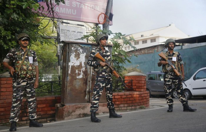 JK BJP defends restrictions in state after revocation of its special status. (PTI Photo)