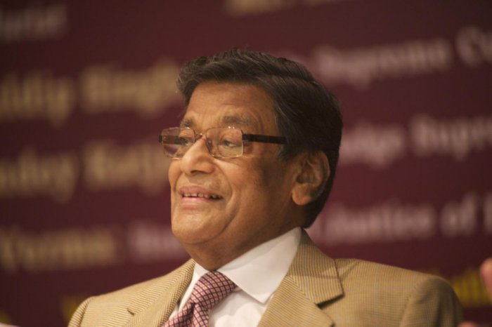 "Describing Jaitley as the brain behind managing difficult situations faced by the BJP, Venugopal said he had lost a ""friend"" who was an excellent lawyer and an equally good politician.DH Photo"