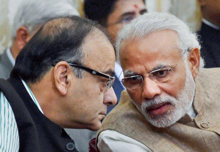 "Prime Minister Narendra Modi on Saturday described Arun Jaitley as a ""valued friend"" (PTI Photo)"
