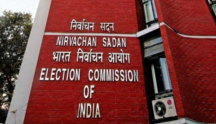 The Election Commission on Sunday announced by-elections to one assembly seat each in Uttar Pradesh, Tripura, Chhattisgarh and Kerala. File photo