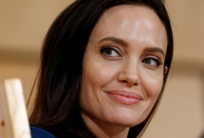 """Jolie, one of the biggest stars of Hollywood, also revealed her look from upcoming Marvel movie """"The Eternals"""" in which she will play the role of fierce warrior Thena, at D23 Expo. (Reuters photo)"""